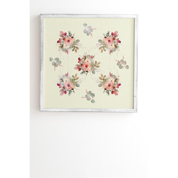 Rose Tan Framed Painting Print by East Urban Home