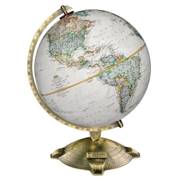 Antique Plated Globe by Red Barrel Studio