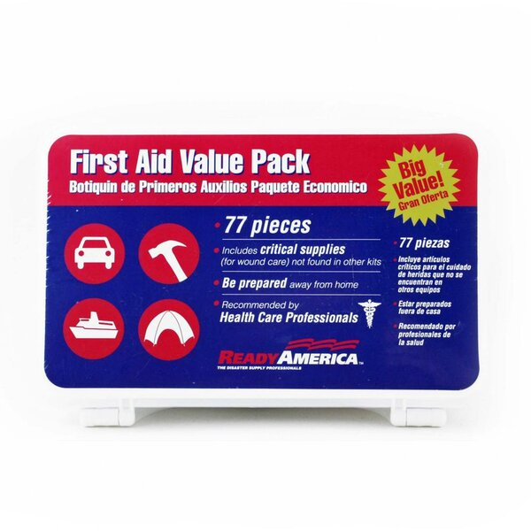 77-Piece First Aid Value Pack by Ready America