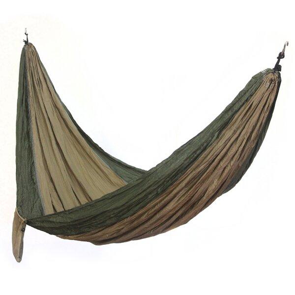 Charly Artisan Putu Oka Mahendra Parachute Nylon Camping Hammock by Novica