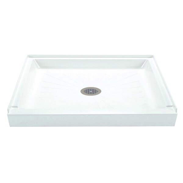 Durabase 42 x 34 Single Threshold Shower Base by E.L. Mustee & Son