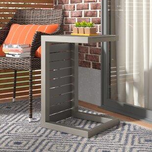 Durbin Aluminum End Table