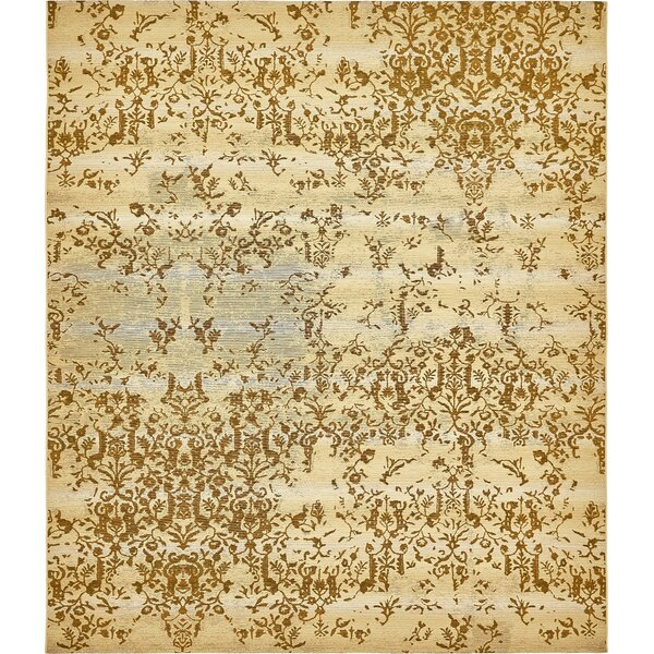 Eris Beige Indoor/Outdoor Area Rug by Ophelia & Co.