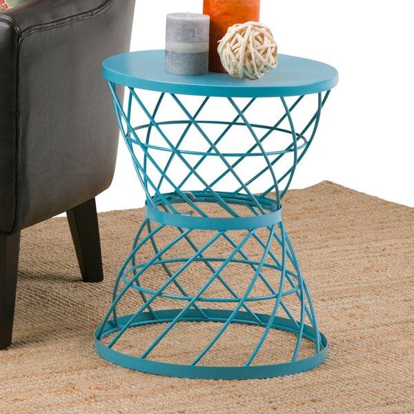 Kendari Metal End Table by Ebern Designs
