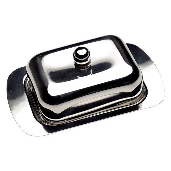 CookNCo Covered Metal Butter Dish by BergHOFF International