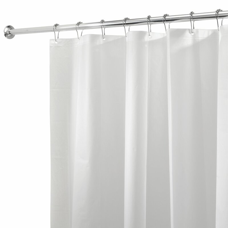 This Vinyl Made Shower Curtain Liner Is 100 PVA It PVC Free Odorless Non Toxic And Eco Friendly Item Resistant To Molds Mildew
