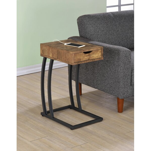 Lenard End Table by Ivy Bronx