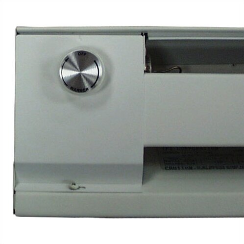 THSS Series Wall Mounted Electric Convection Baseboard Heater with Thermostat by TPI