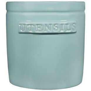 Utensil Crock by Rebrilliant