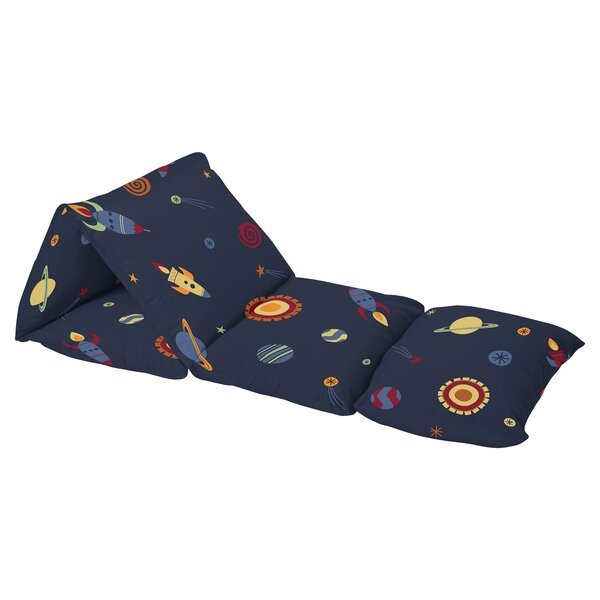 Space Galaxy Floor Pillow Lounger Cover by Sweet Jojo Designs