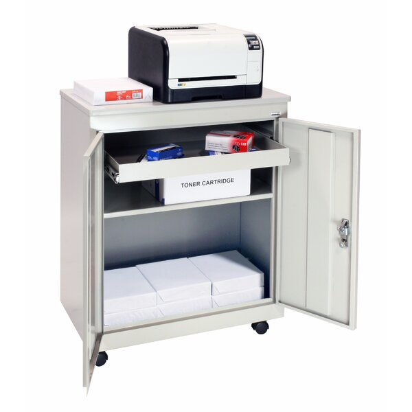 Mobile Refreshment 2 Door Accent Cabinet by Sandusky Cabinets