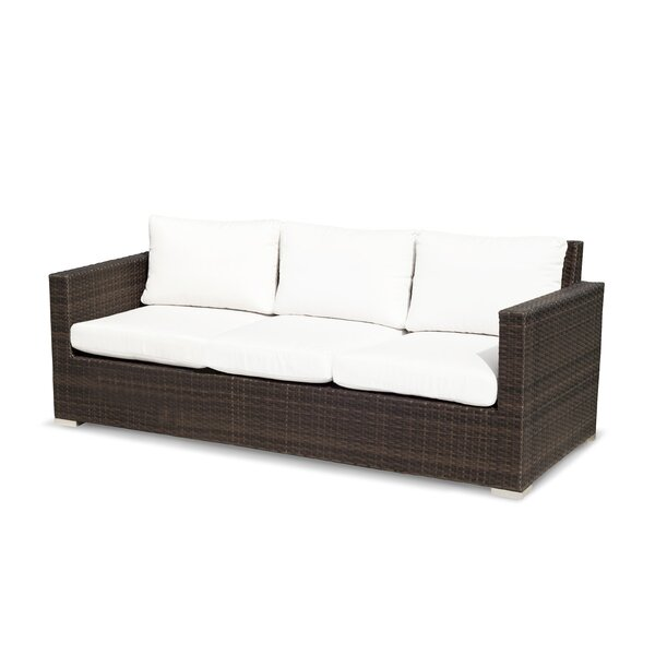 Ronning Patio Sofa with Cushions by Brayden Studio