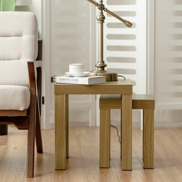 Vanbrugh 2 Piece Nesting Tables by Winston Porter