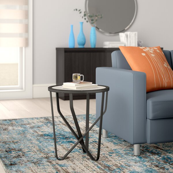 Dudek End Table by Ebern Designs