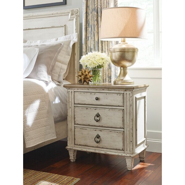 Dicha 3 Drawer Nightstand by Ophelia & Co.