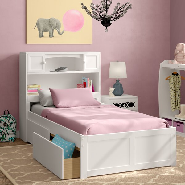 Wasilewski Mates & Captains Bed With Drawers And Bookcase By Viv + Rae by Viv + Rae Savings