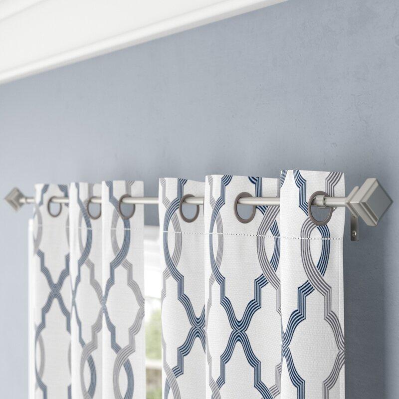 Lockerbie Single Curtain Rod