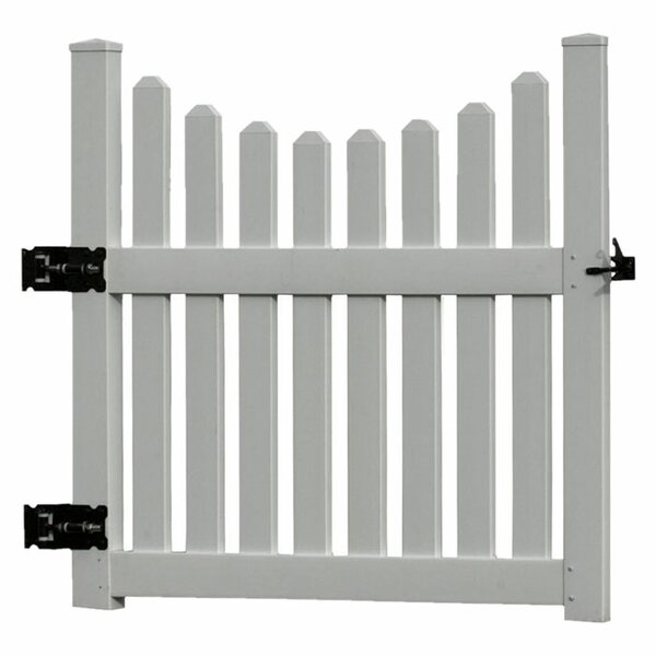 3.5 ft. H x 4 ft. W Cottage Gate by New England Arbors