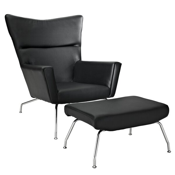 Class Lounge Chair by Modway
