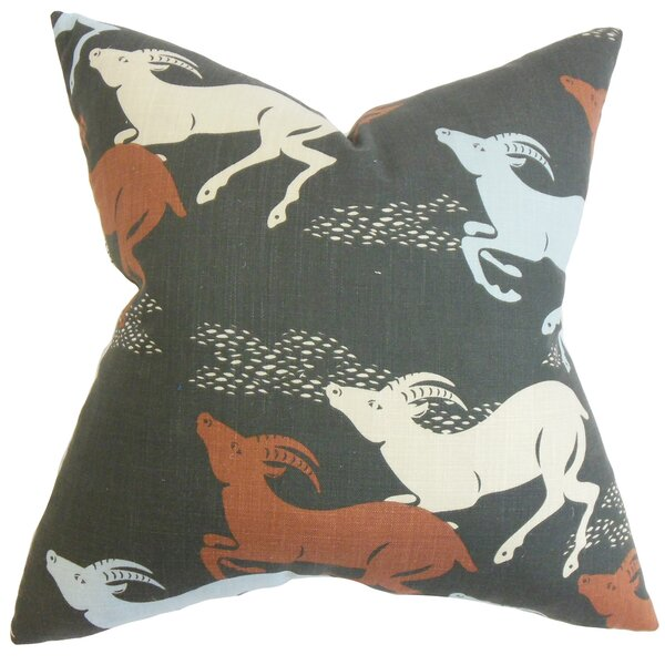 Jeremiah Animal Floor Pillow by Loon Peak