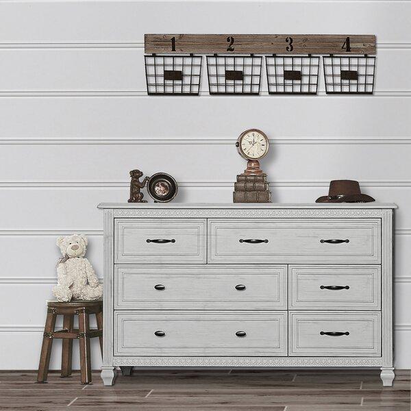 Madison 6 Drawer Dresser by Evolur