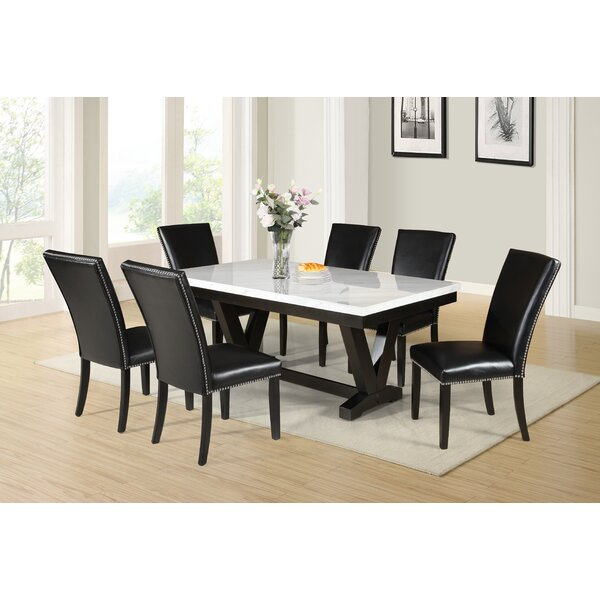 Finley 7 Piece Dining Set by Red Barrel Studio Red Barrel Studio