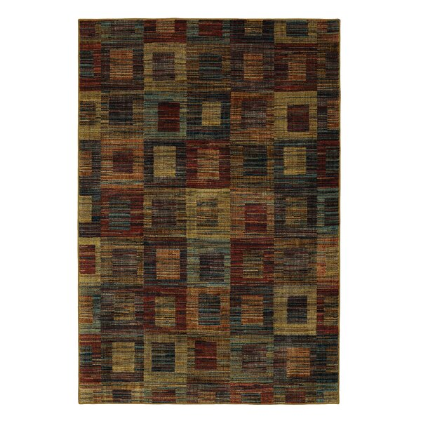Finely Brown Area Rug by Mayberry Rug