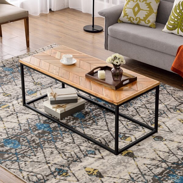 Pelayo Frame Nesting Table with Storage by 17 Stories 17 Stories