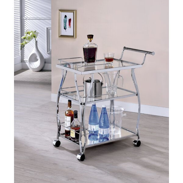 Koltunski Serving Cart by Orren Ellis