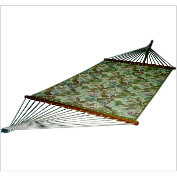 Pandan Quilted Floral Tree Hammock by Bay Isle Home