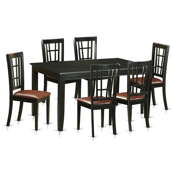 East West Dudley 7 Piece Dining Set & Reviews | Wayfair