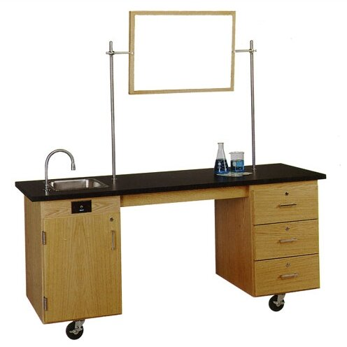 ADA Compatible Mobile Lab Station by Diversified Woodcrafts
