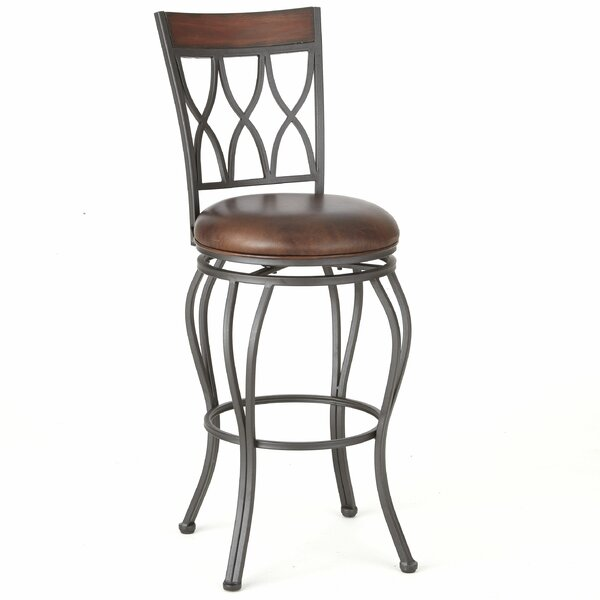 Malinda 46 Swivel Bar Stool by Red Barrel Studio