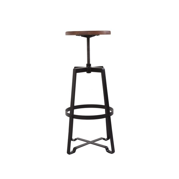 Adjustable Height Swivel Bar Stool by dCOR design