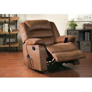 Reclining Heated Massage Chair  sc 1 st  Wayfair & Synergy Recliner Chair | Wayfair islam-shia.org