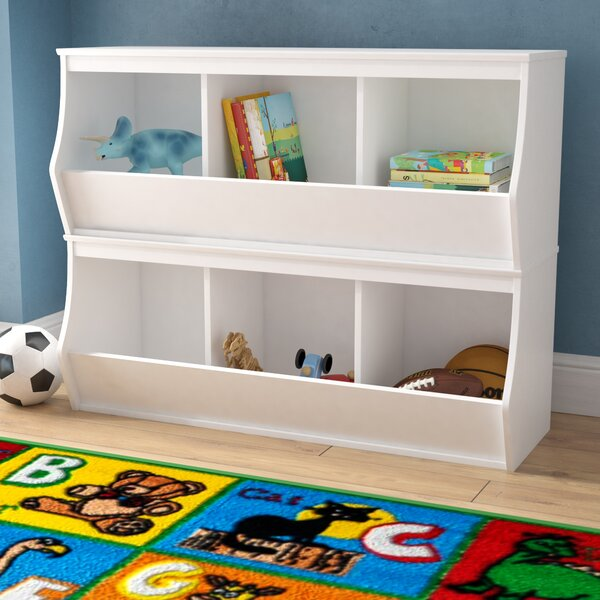 Leonor Stacked 6 Bin Storage Cubby by Viv + Rae