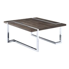 modern chrome coffee tables | allmodern