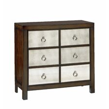 Hidden Treasures 6 Drawer Chest by Hammary