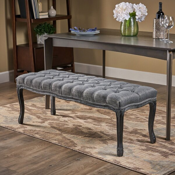 Adalyn Tufted Diamond Upholstered Bench By One Allium Way Reviews