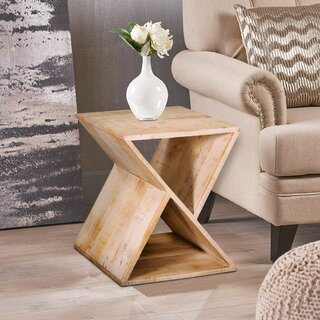 Alexandrine Z Shaped End Table With Storage by Foundry Select SKU:AA437146 Buy