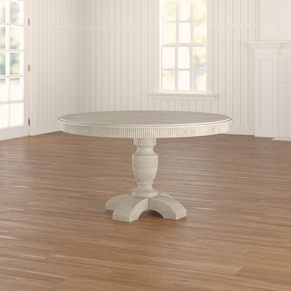 Coursey Round Dining Table By August Grove Fresh