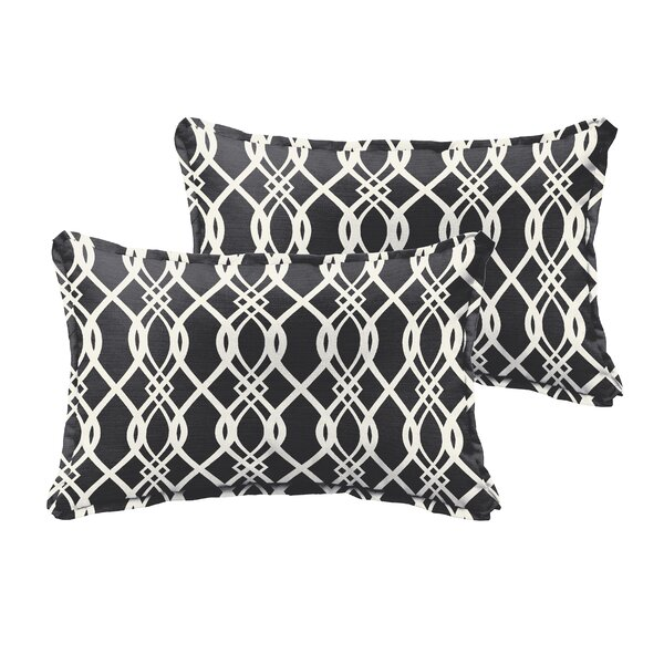 Valier Outdoor Lumbar Pillow (Set of 2) by Darby Home Co