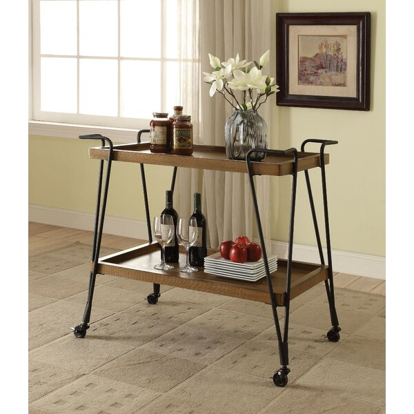 Trotter Serving Bar Cart By Williston Forge Savings