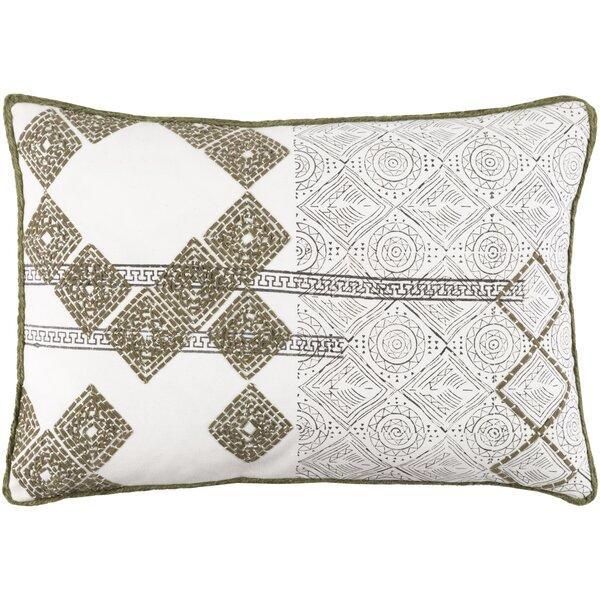 Fidel Rectangular Cotton Lumbar Pillow by Bloomsbury Market