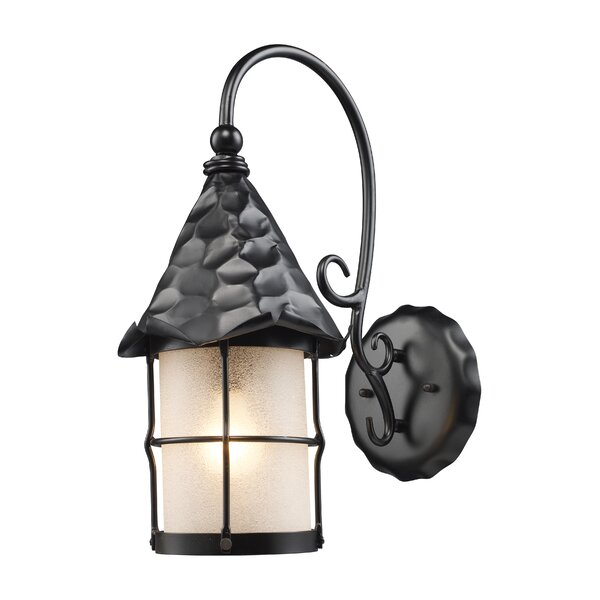 Busch 1-Light Outdoor Wall Lantern by Millwood Pines