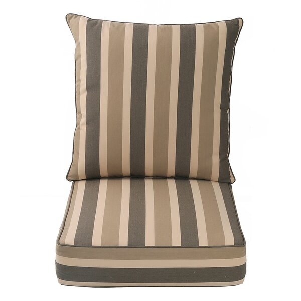 Indoor/Outdoor Deep Seat Chair Cushion by Darby Home Co