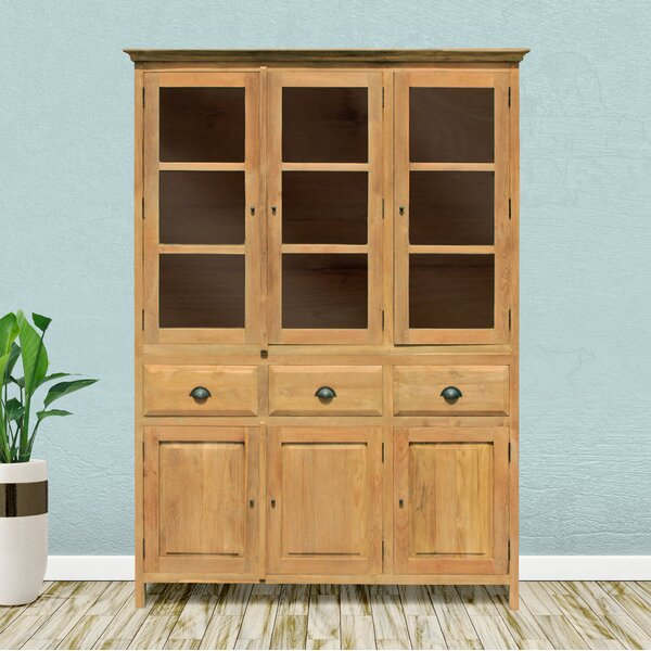 Pellerin Recycled Teak Cupboard Medium China Cabinet By Loon Peak #2