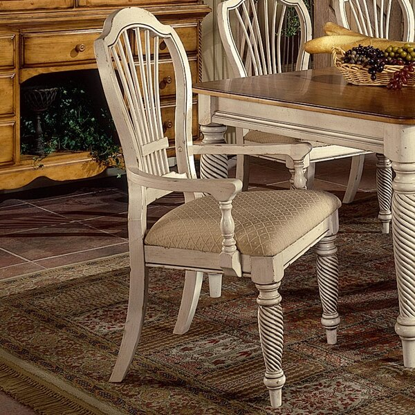 Bair Upholstered Dining Chair (Set of 2) by One Allium Way