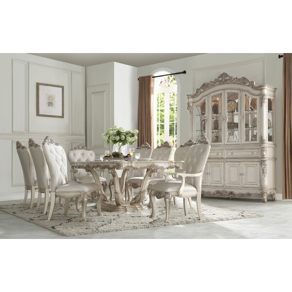 Gayle 9 Pieces Extendable Dining Set by House of Hampton House of Hampton