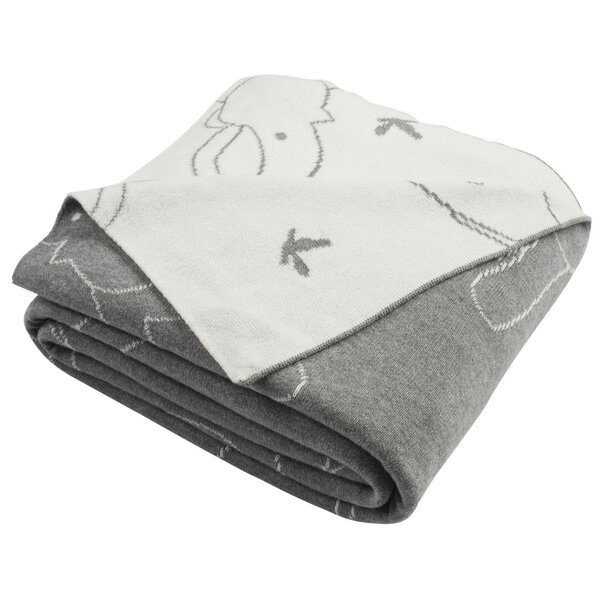 Dunn Knit Cotton Throw by Harriet Bee